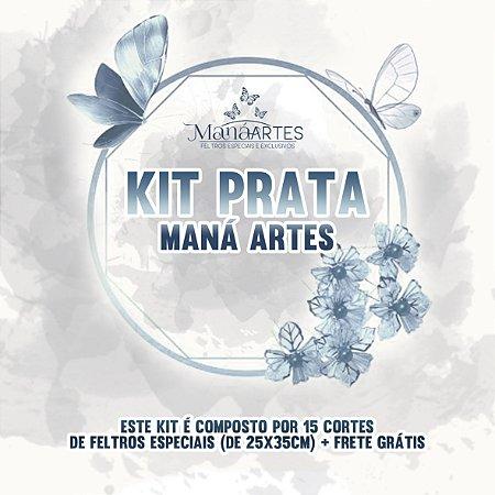 KIT PRATA - MANÁ ARTES - PROMOCIONAL