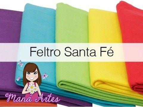FELTROS SANTA FÉ - LISOS - cortes 50 x 70cm