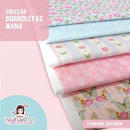 COLEÇÃO BORBOLETAS by MANÁ ARTES