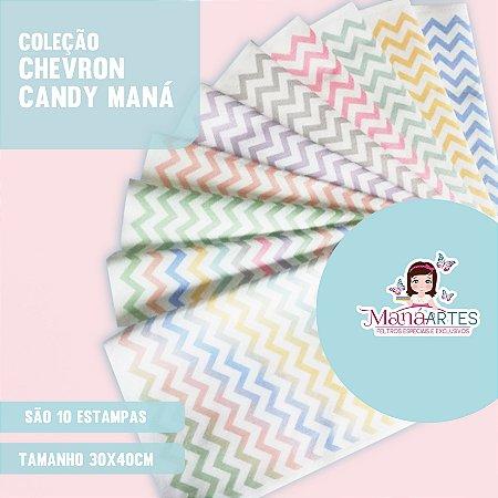COLEÇÃO CHEVRON CANDY by MANÁ ARTES