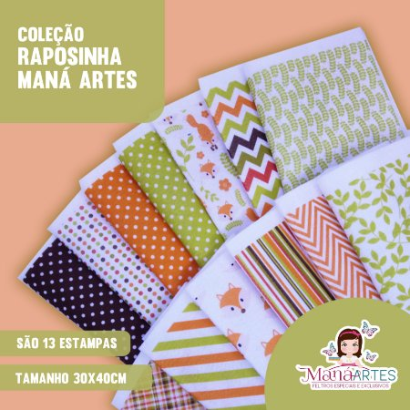 COLEÇÃO RAPOSINHAS by MANÁ ARTES