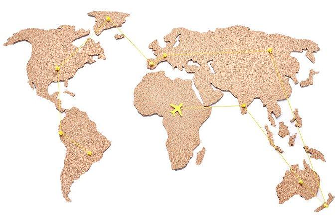 Mapa Cortiça - Rotas de Viagem