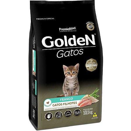 Ração Golden Gatos Filhotes Sabor Frango