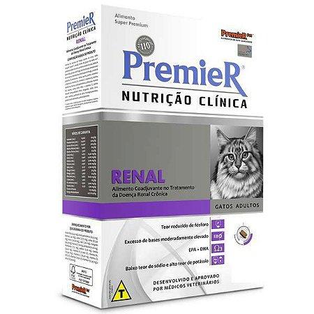 Ração Premier Nutrição Clínica Para Gatos Renal