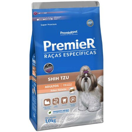 Ração Premier Pet Raças Específicas Salmão Shih Tzu Adulto