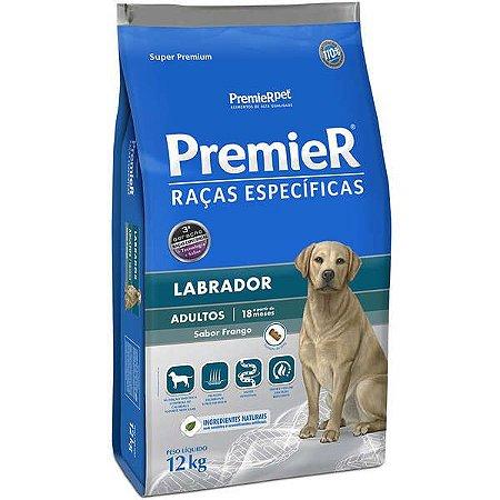 Ração Premier Pet Raças Específicas Labrador Adulto 12 Kg