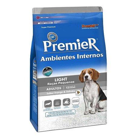 Ração Premier Pet Ambientes Internos Cães Adultos Light