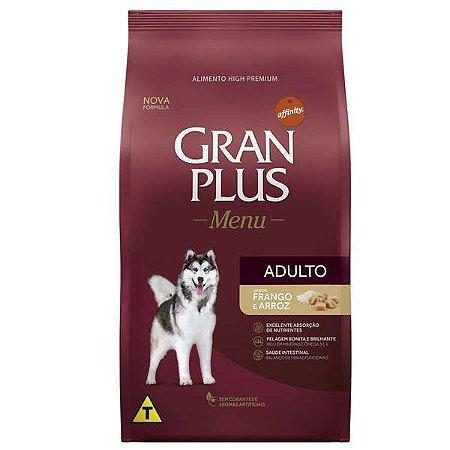 Ração Affinity PetCare Gran Plus Menu Frango e Arroz para Cães Adultos