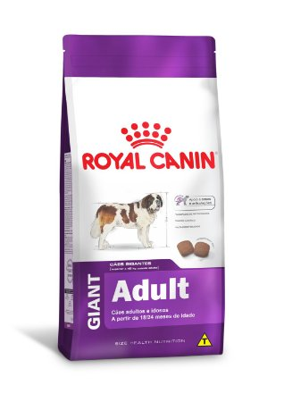 Ração Royal Canin Giant para Cães Gigantes Adultos ou Idosos acima de 18/24 Meses de Idade