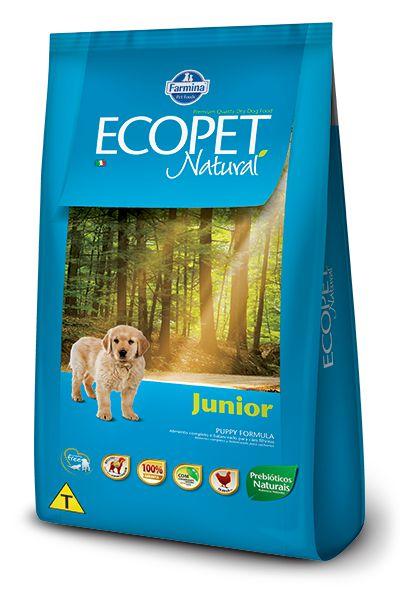 Ecopet Filhote Ração Natural Junior Cães