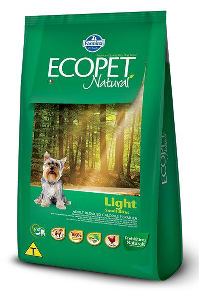 Ração Farmina Ecopet Natural Light para Cães Adultos com Tendência a Obesidade de Raças Pequenas
