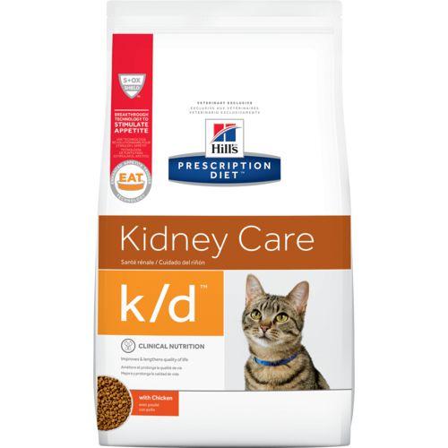 Ração Hill's Prescription Diet k/d Felino Cuidado Renal