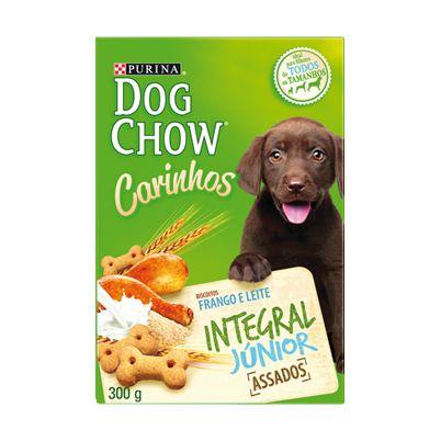 Petisco Nestlé Purina Dog Chow Carinhos Integral Júnior Frango para Cães Filhotes 300g