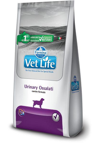 Ração Vet Life Natural Urinary Ossalati para Cães Adultos