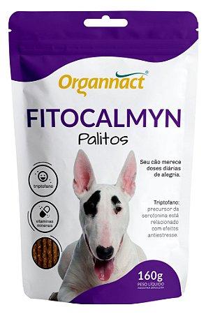 Suplemento Organnact Fitocalmyn Palitos Sache 160g