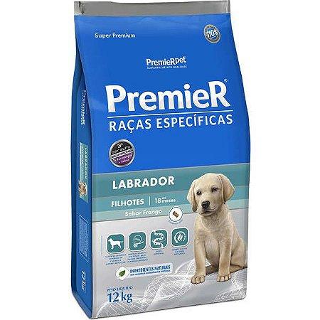 Ração Premier Pet Raças Específicas Labrador Filhotes 12 Kg