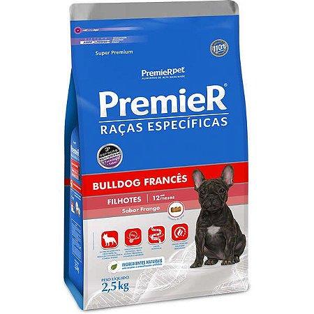 Ração Premier Pet Raças Específicas Bulldog Francês para Cães Filhotes