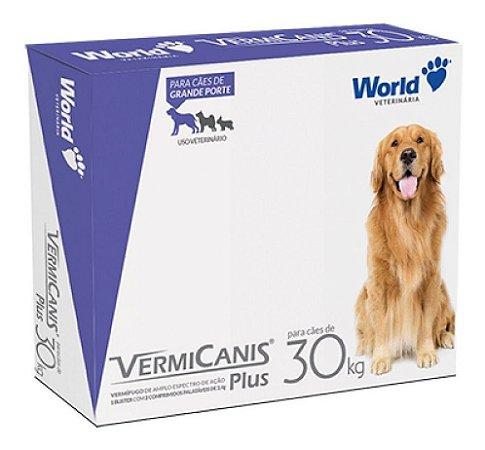 Vermifugo Vermicanis Plus 2,4 g Para Cães de até 30 Kg