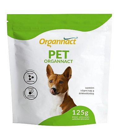 Suplemento Vitamínico Organnact Pet Probiótico 125g