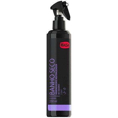 Banho A Seco Ibasa Higienizador E Neutralizador Odores 250ML