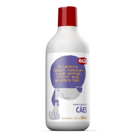 Shampoo Sabonete Líquido Ibasa para cães 500 ml
