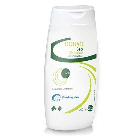 Shampoo Ceva Douxo Seb Controle Da Oleosidade Para Cães E Gatos - 200 Ml