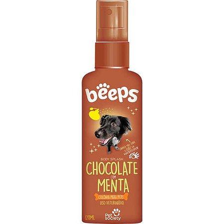 Deo Colônia Beeps Body Splash Pet Society Chocolate com Menta