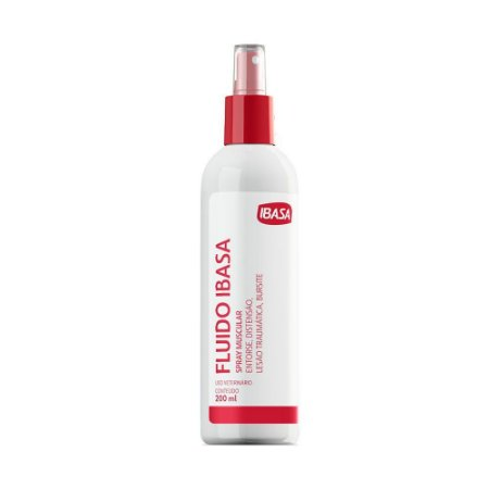 Fluído Ibasa Spray Muscular - 200 Ml
