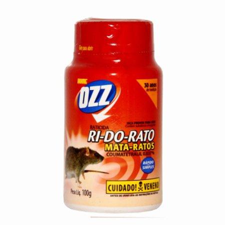 Raticida RI-DO-RATO PÓ - 100g