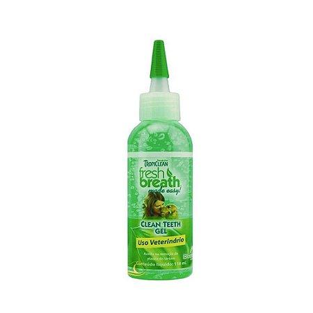 Gel Removedor De Tartáro Fresh Breath Clean Teeth Tropiclean - 59 Ml