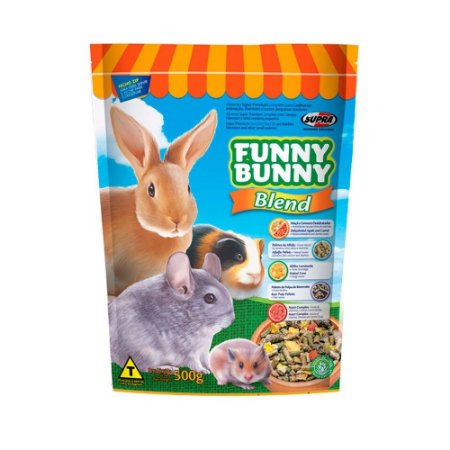 Ração para Roedores Funny Bunny Blend 500g