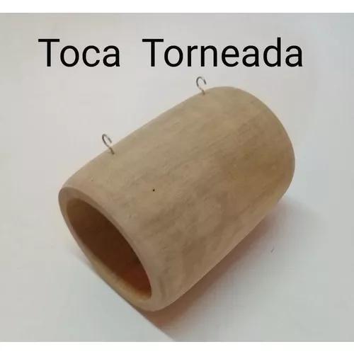 Toca Torneada em Madeira