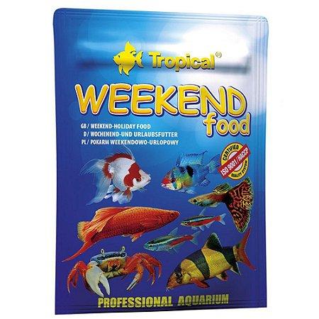 Ração Tropical Weekend Food 20g Sache