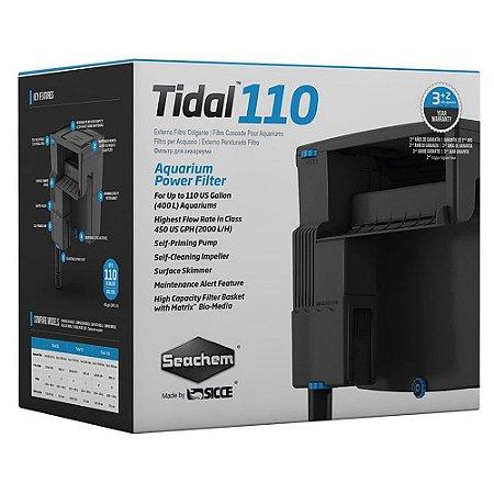 Seachem Filtro Tidal 110 Para aquários de até 400 Litros Vazão 2000 L/h