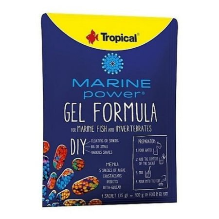 Ração Tropical Marine Power Gel Formula
