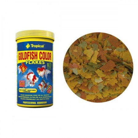 Tropical Goldfish Color Flakes