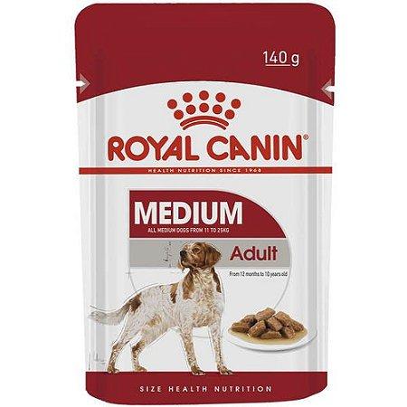 Royal Canin Cão Wet Sachê Medium Adult 140g