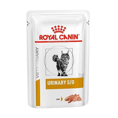 Ração Royal Canin Sachê para Gatos Veterinary Urinary S/O Feline Wet