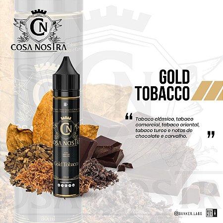 LÍQUIDO GOLD TOBACCO - COSA NOSTRA
