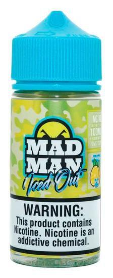 LIQUIDO CRAZY LEMON ICED OUT - MAD MAN