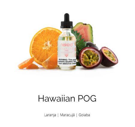 LÍQUIDO HAWAIIAN POG - NAKED 100