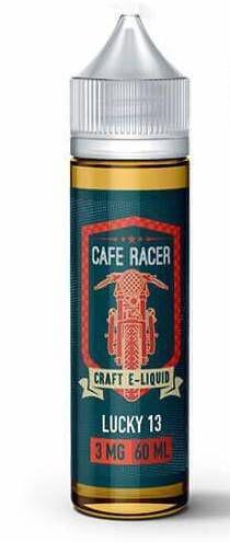 LÍQUIDO LUCKY 13 - CAFE RACER CRAFT E-LIQUID