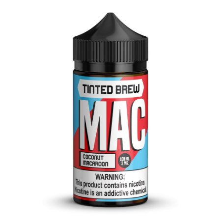 LÍQUIDO MAC COCONUT MACAROON - TINTED BREW