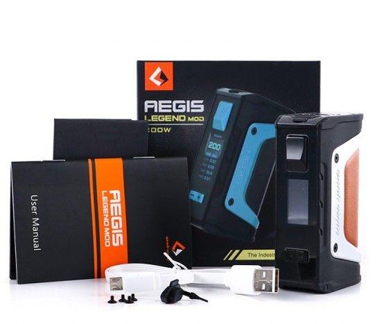 MOD AEGIS LEGEND 200W TC BOX - GEEK VAPE