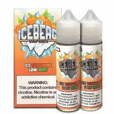 LIQUIDO ICE TANGERINE LOW MINT - ICEBERG VAPORS