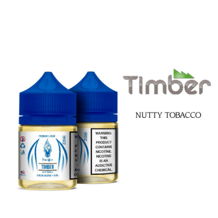 LÍQUIDO TIMBER NUTTY TOBACCO - HALO
