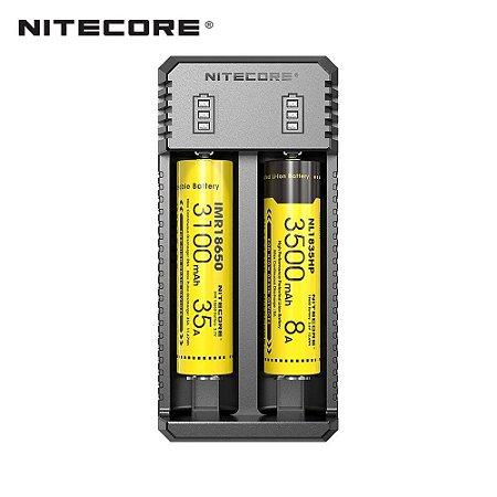 CARREGADOR UI2 DUAL SLOT USB - NITECORE