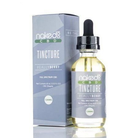 LÍQUIDO CBD TINCTURE  REALLY BERRY SUBLINGUAL - NAKED 100