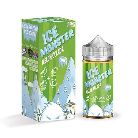 LIQUIDO ICE MONSTER MELON COLADA 100ML - JAM MONSTER