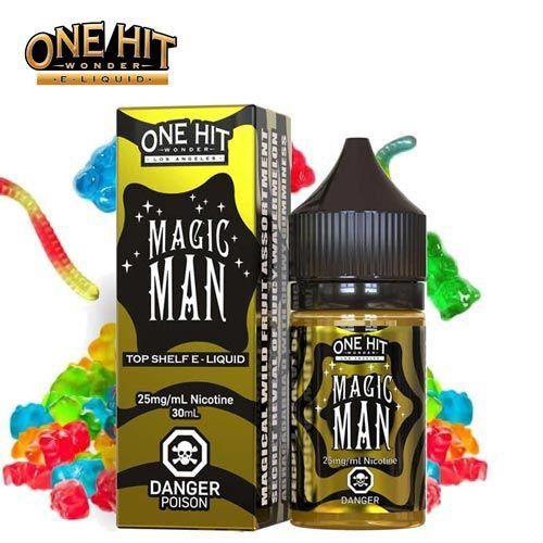 LIQUIDO MAGIC MAN 30ML - NICSALT - ONE HIT WONDER E-LIQUID